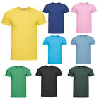 RUSSELL MENS LIGHTWEIGHT SLIM FIT SHORT SLEEVE T-SHIRT TEE S-XXL 155M