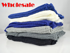 10, 20, 50 pcs Wholesale Lot Womens Scarves Knitted Loop Scarf Solid Colors