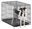 """48""""/42""""/36""""/30""""/24""""/22''/18'' Pet Kennel Cat Dog Folding Crate Wire Metal Cage"""