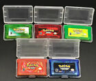 Pokemon Gameboy Advance Game Bundle Fire Red Leaf Green Emerald Ruby Sapphire UK