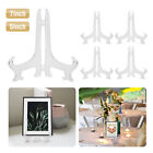 """5pcs Clear 5"""" 7"""" Foldable Easel Display Stand Holder Picture Photo Wddings Party"""