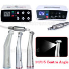 Dental Electric Brushless LED Micro Motor / 1:1/1:5 Contra Angle Handpiece
