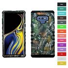 For Samsung Galaxy Note 9 Camo Mossy Oaks Hybrid ShockProof Protector Case Cover