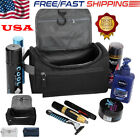 Unisex Travel Wash Bag Toiletry Organizer Shaving Cosmetic Case Waterproof Men W