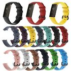 Replacement Classic Silicone Rubber Band Strap Wristband For Fitbit CHARGE 3