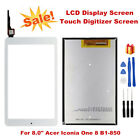For Acer Iconia One 8 B1-850 Touch Digitizer Screen LCD Display Replacement Tool