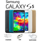 Samsung Galaxy S5 G900f 16gb Quad Core Android Phone New Factory Unlocked