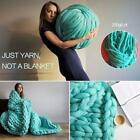 Hand-knitted Merino Soft Wool Thick Yarn Knit Blanket image