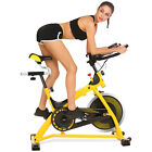 Ancheer Fitness 49LB Indoor Workout Stationary Cycling Trainer Exercise Bike