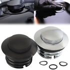 Flush flippedGas Cap Fuel Oil Tank Cover fit For Harley Sportster XL883 XL1200