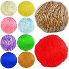 Flat Round Shape Cover*Faux Fur Skin Curly Floor Seat Chair Cushion Case*Fs1