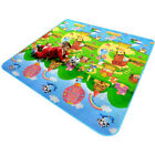 Child Infant Baby Kids Crawling Game Floor Play Mat Rug Double-Side Waterproof
