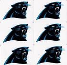 LOT OF 6 CAROLINA PANTHERS LOGO STICKERS NFL LICENSED on eBay