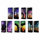 HEAD CASE DESIGNS DREAMSCAPES SILHOUETTES LEATHER BOOK CASE FOR APPLE iPHONE