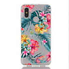 For Huawei P20 P30 Lite Mate 20 Lite Slim Soft Silicone Clear Painted Case Cover