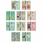 HEAD CASE DOSES NONSENSE LEATHER BOOK WALLET CASE COVER FOR APPLE iPHONE PHONES