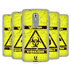 HEAD CASE DESIGNS HAZARD SYMBOLS SOFT GEL CASE FOR ZTE PHONES