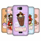 HEAD CASE DESIGNS KAWAII CAKES AND SHAKES HARD BACK CASE FOR HUAWEI PHONES 2