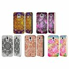 HEAD CASE DESIGNS MANDALA DOODLES SILVER BUMPER SLIDER CASE FOR SAMSUNG PHONES