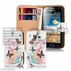 NEW PU LEATHER WALLET CASE COVER FOR SAMSUNG GALAXY ACE S5830 SCREEN PROTECTOR