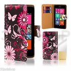 32nd Design PU Leather Wallet Case Cover for NOKIA & MICROSOFT LUMIA Models