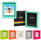 """Shadow Box Magnetic 4.5 x 5.5"""" Polaroid Photo Frame For Pictures Photographs"""