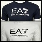 Emporio Armani EA7  Short Sleeve Crew Neck T-Shirt* Chest Print &amp; Size S to XXL* <br/> Early Summer Big Sale Up To 70%.. Buy With Confidence