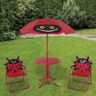 FUN FOR KIDS! Patio Set Two CHAIRS and One TABLE for Yard, Garden, Two Variation