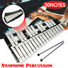 More images of UK 30 Note Xylophone Glockenspiel Aluminum Foldable Percussion Mallets Bag Set
