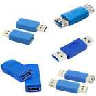USB 3.0 Type A Male To Female Adapter Connector Angle Extension Extender Coupler