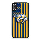 NASHVILLE PREDATORS iPhone 6/6S 7 8 Plus X/XS Max XR Case Cover $15.9 USD on eBay