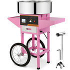 """21"""" Electric Cotton Candy Machine Sugar Floss Maker + Cart Party Carnival"""