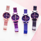Luxury Women Starry Sky Watch Magnet Strap Buckle Female Fashion with Star Watch image