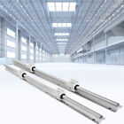 Kyпить 2Pcs SBR20 Slide Guide Rod 650-2200mm Linear Rail + 4Pcs SBR20UU Bearing на еВаy.соm