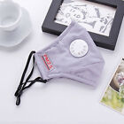 Unisex Cycling Anti-Dust Cotton Mouth Face Mask Masks Respirator Valve Hot