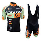 New Team Cycling Jersey 2019 Men Bike Set Quick Dry Short Sleeve bicycle clothes