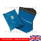 Premium Strong METALLIC BLUE Mailing Postal Poly Pack Postage Bags UK ALL SIZES