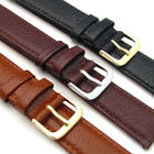 CONDOR Buffalo Grain Padded Leather Watch Strap 131R 3 Colours 16mm 18mm 20mm