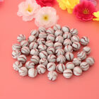 50Pcs 16mm Glass Round Beads Kids Marbles Ball Traditional Game Toy Gift