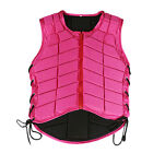 Внешний вид - Horse Riding Vest, Zipper Safety Shock Absorption Waistcoat Body Protective Gear