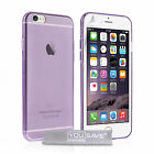 Yousave Accessories Apple iPhone 6 6S Ultra Thin Clear TPU Gel Phone Case Cover