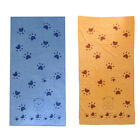 Pet Dog & Cat Blanket, Fleece Fabric Soft and Cute Towel 2 Colors 55x28 inch