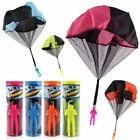 Hand Throwing Parachute Toys Children Outdoor Soldier War Game Kids Educational