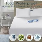 Waterproof Bed Soft Pad Twin Mattress Bedding Sheet Protector Cover Queen King image