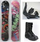"NEW TRANS ""PREMIUM"" SNOWBOARD/BINDINGS/BOOTS PACKAGE- WOMEN'S - 138, 143, 153cm"