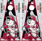 Cincinnati Reds Cornhole Wrap MLB Decal Vinyl Camouflage Gameboard Skin Set YD18 on Ebay