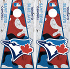 Toronto Blue Jays Cornhole Wrap MLB Decal Vinyl Camouflage Sticker Skin Set YD12 on Ebay