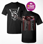 METALLICA worldwired tour 2018 – 2019 concert T-shirt Size Men tee Shirt Black image