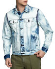 New With Tags Mens True Religion Danny Denim Jacket Coat Distressed