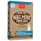 Wag More Bark Less ITTY BITTY GRAIN FREE OVEN BAKED Dog Treats 7 oz MADE IN USE